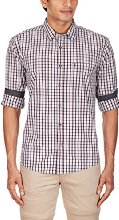 Amazon : Buy Grasim Men's 100% Cotton Casual Shirt at Rs. 518 only – Buytoearn
