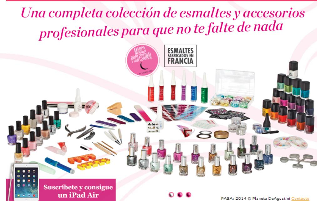 Colección Fashion Nails de Planeta de Agostini
