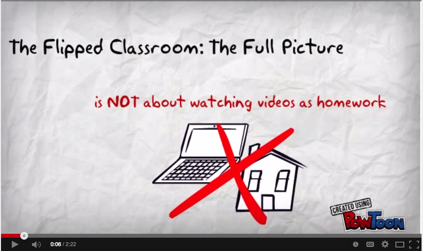 video clips of classroom instruction