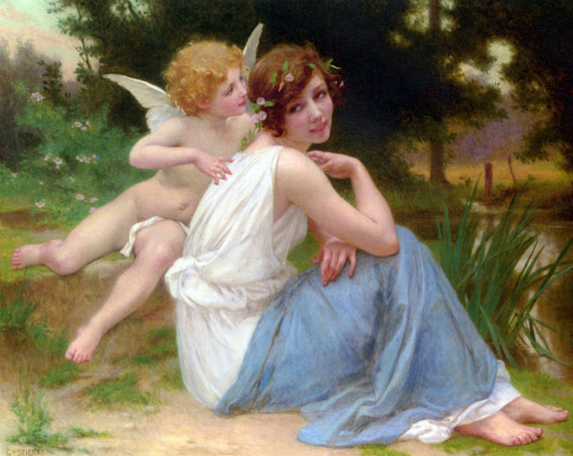 Cupid,Psyche,Guillaume Seignac