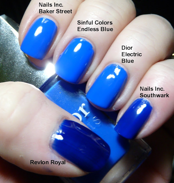 Thrifty Thursday! With Sinful Colors Endless Blue And An