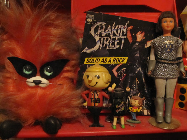 SHAKIN' STREET Solid as a rock  CBS / 1980 / France