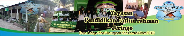 yayasan Fathurrahman Jeringo