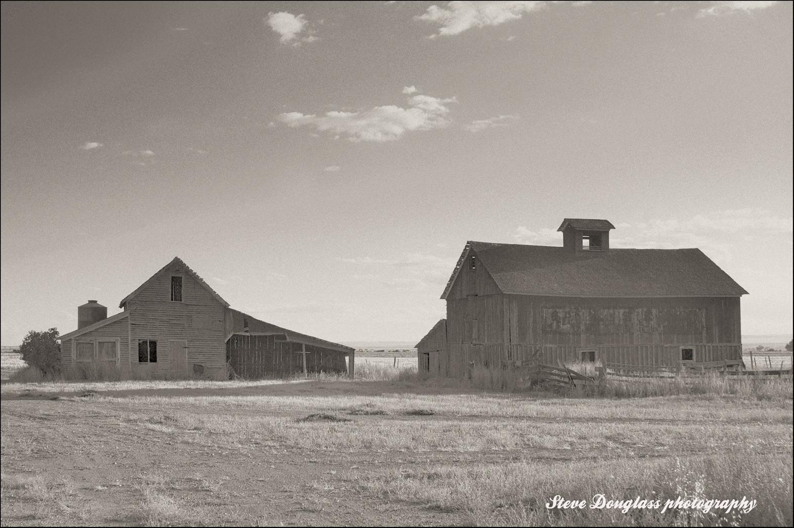 Dust Bowl Echoes: Dust Bowl echo - Abandoned farm SE Colorado