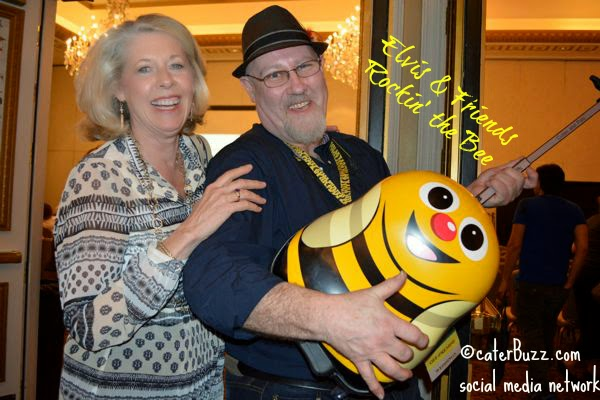 the buzzies are rocking it out in the hallways at Catersource © caterBuzz.com social media network -