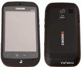 Cross AD350 HP Android Touchscreen Harga dan Spesifkasi