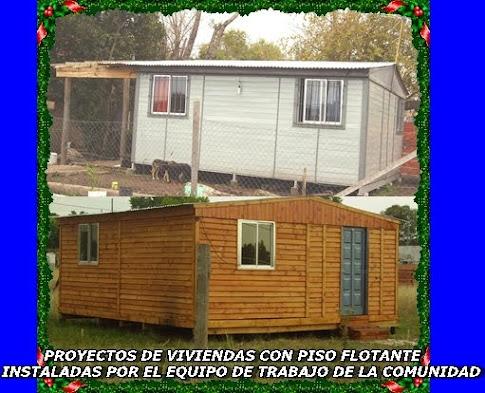 """PROYECTOS DE VIVIENDAS REALIZADAS POR LA COMUNIDAD """"Guaguajni  Jallpa""""  2007 -  2008 - 2009 – 2010"""