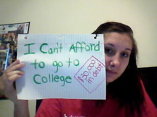 I can't afford to go to college