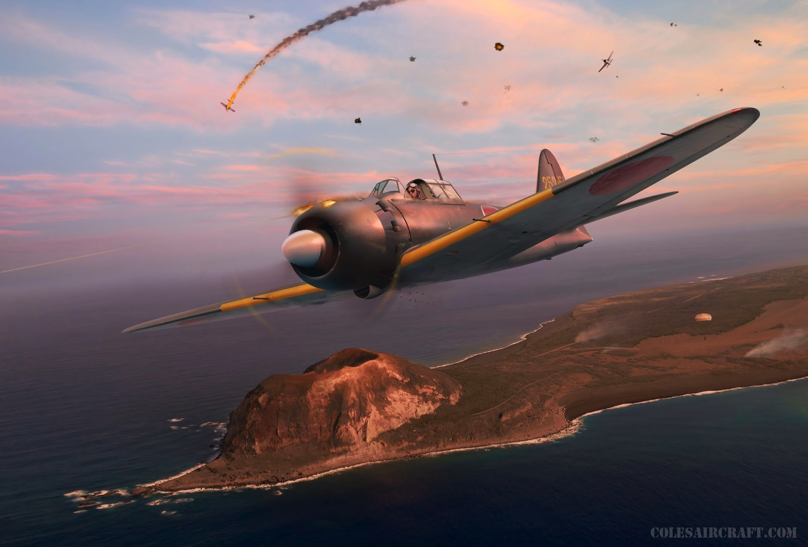 aircraft of ww2 Zero: zero, fighter aircraft, a single-seat, low-wing monoplane used with great effect by the japanese during world war ii designed by horikoshi jiro, it was the.
