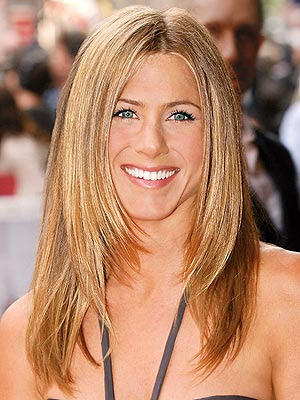 jennifer aniston untouched photos. Aniston Sandy Blonde Hair