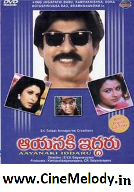 Aayanaki Iddaru Telugu Mp3 Songs Free  Download 1995