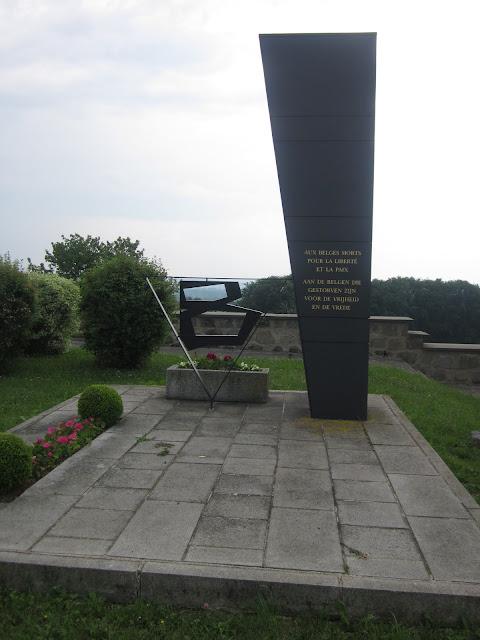 Belgium's Monument, Mauthausen Concentration Camp, Vienna / SouvenirChronicles.blogspot.com
