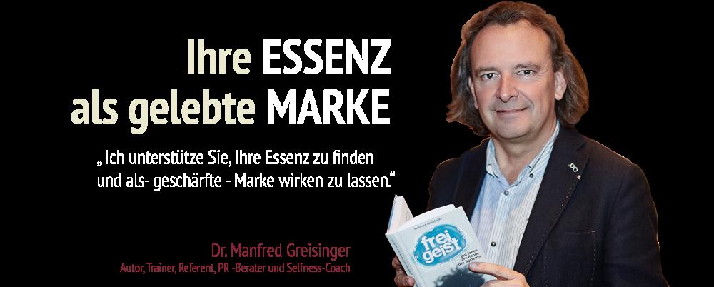 Stoareich - Dr. Manfred Greisinger