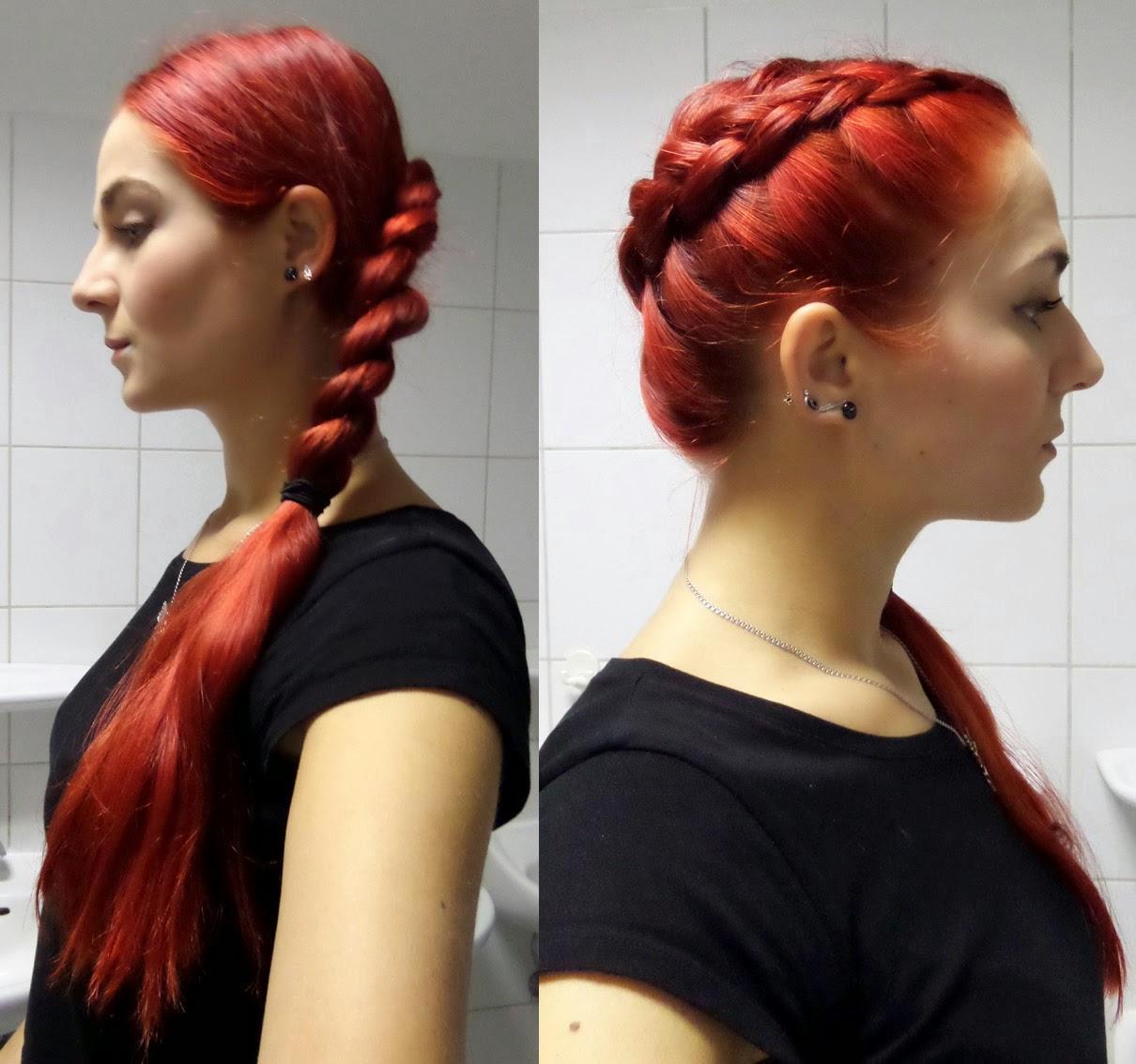 [Mädchenkram] Haare - Sonntagsfrisur #4