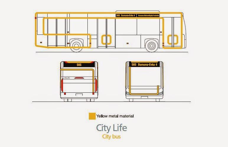 Bus Design City life facelift