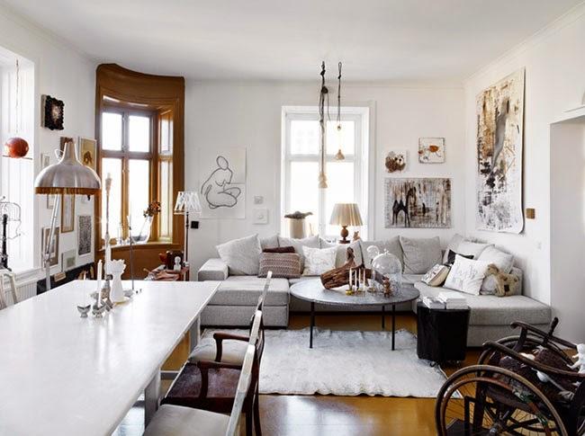 Una zona giorno personalissima - Home Shabby Home  Arredamento ...