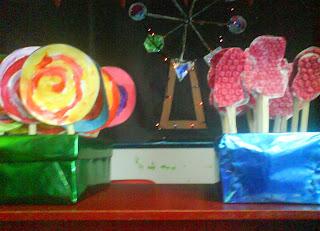 Grammazzle Piruleta Lollipop Algodón Azúcar Candy Floss Peces Goldfish Patito Goma Rubber Ducky