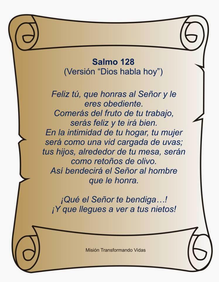 Esperanza Salmo 128 Biblia Catolica Wwwimagenesmycom