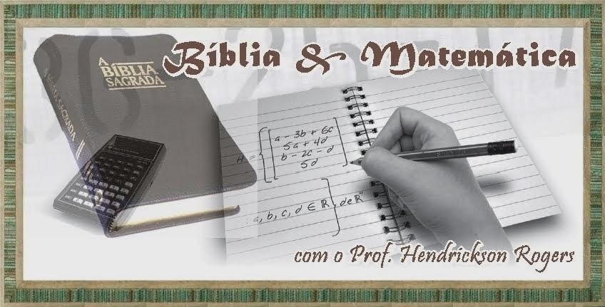 Professor H | Bíblia & Matemática