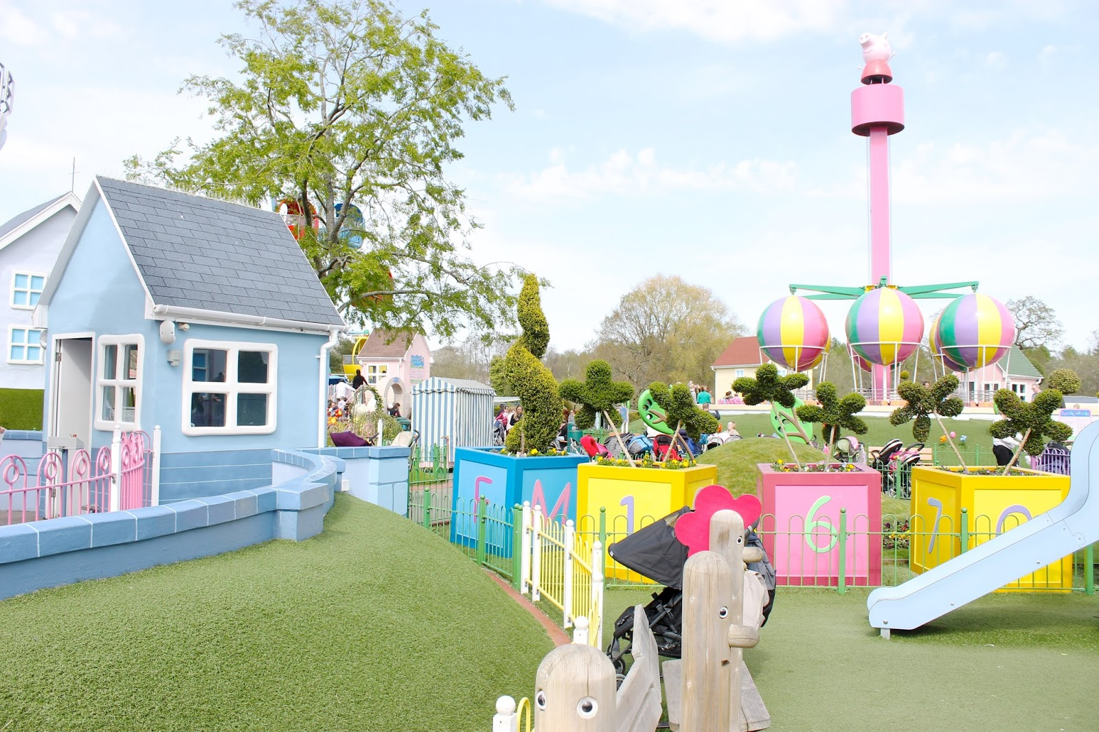 peppa pig world review, paultons park review
