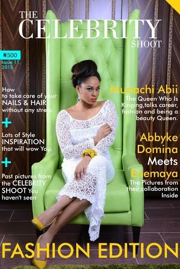 Beauty Queens Munachi Abii & Enemaya are featured on the latest edition of 'The Celebrity Shoot'