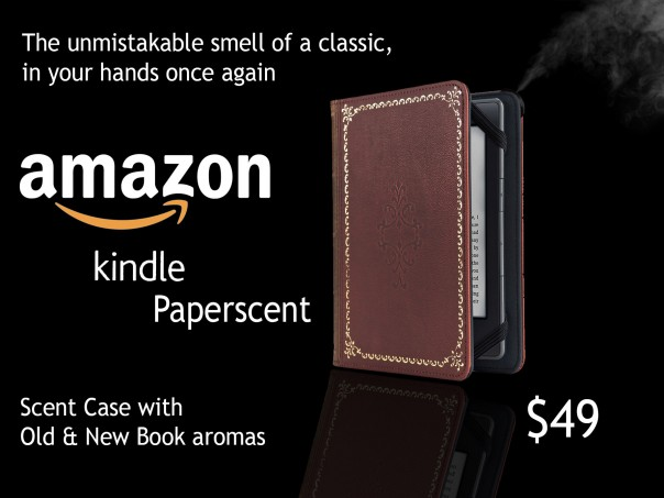 Amazon Kindle Paper scent