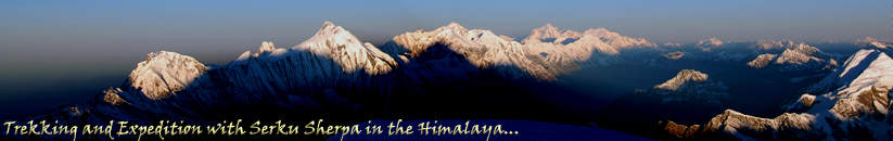 Trekking, Tour, and Expedition with Serku Sherpa in the Himalaya