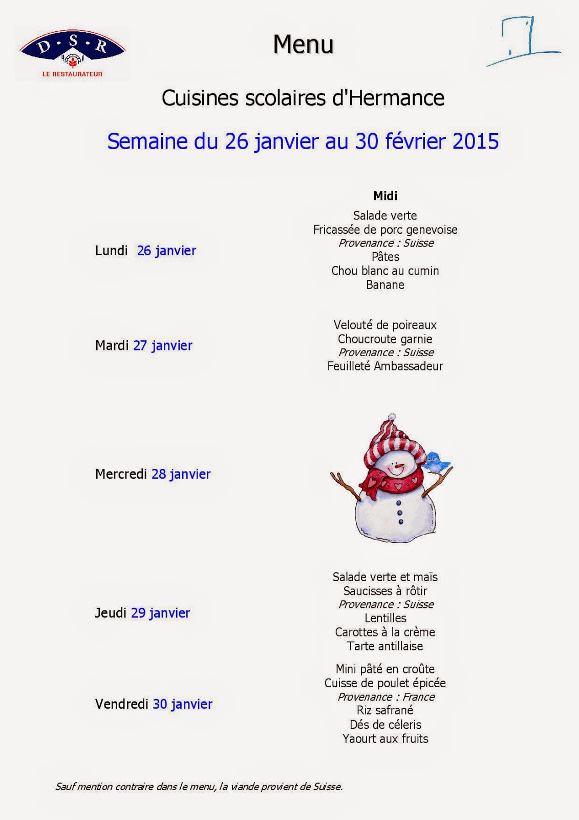 Hermance ptit midi restaurant scolaire hermance blog - Inscription 12 coups de midi numero de telephone ...