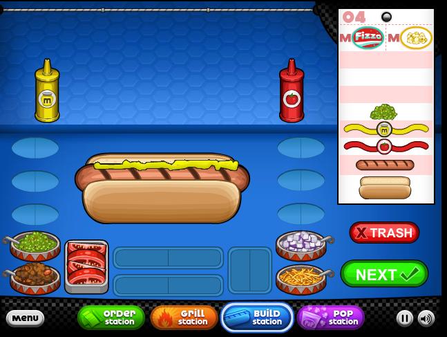 Papas hot doggeria hacked cheats hacked free games