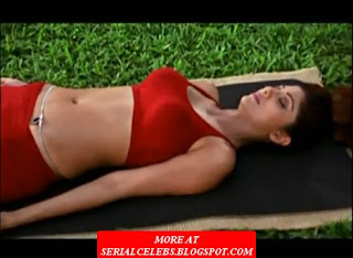 shilpa shetty navel yoga