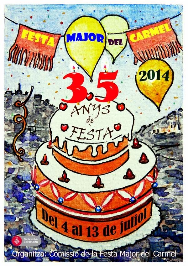 ENTRA! NOVA WEB DE LA FESTA MAJOR DEL CARMEL!