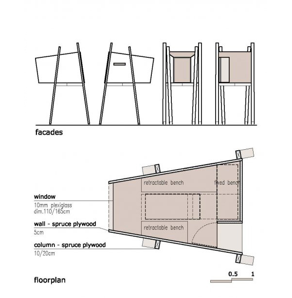 House plan designs standing tree house plan for Tree house floor plans