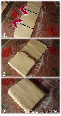 pâte feuilletée tour simple