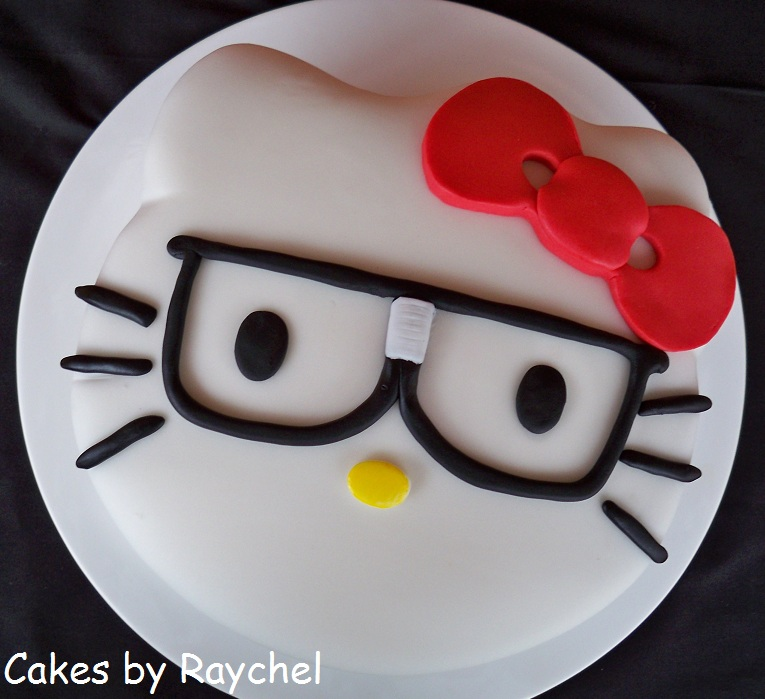 Hello Kitty Head Cake Template, Hello Kitty Birthday Cake Template