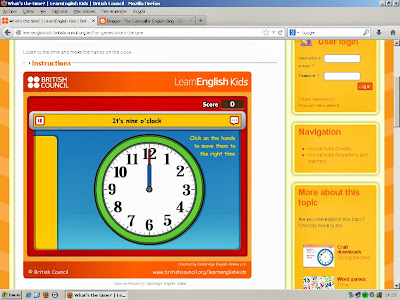 http://learnenglishkids.britishcouncil.org/en/fun-games/whats-the-time