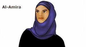 gambar jilbab model al-amira