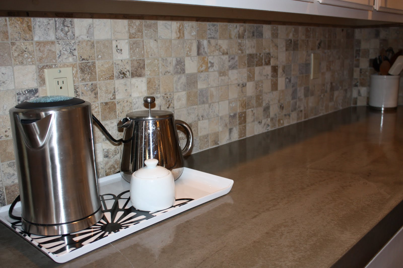 Countertop Dishwasher Craigslist : We decided not to stain this countertop, we just left the concrete as ...