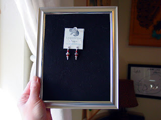jewelry display frames tute