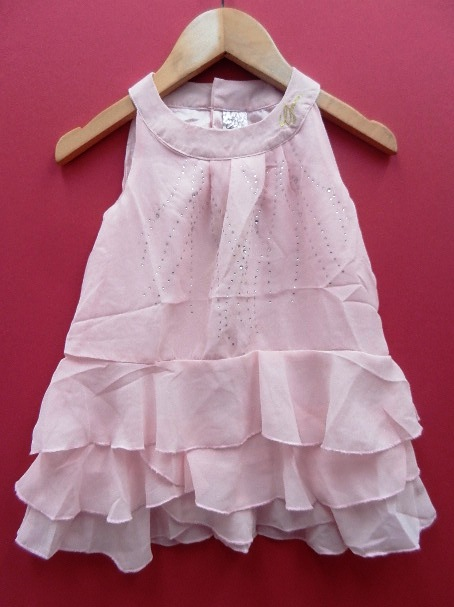 Guess Chiffon Ruffler Dress Ready Now