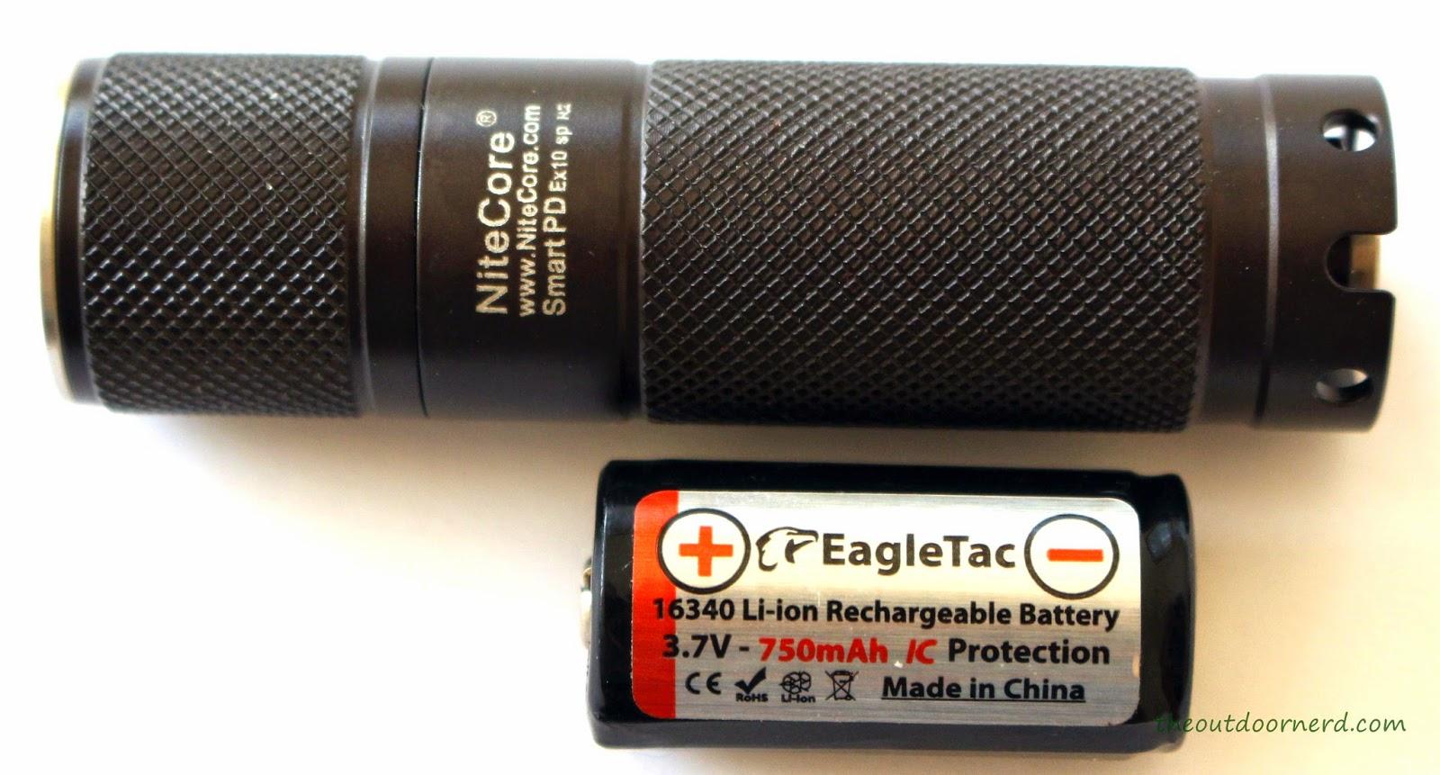 Nitecore Ex10 1xCR123A Flashlight 1