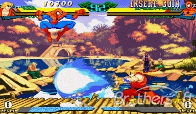 Marvel Super Heroes vs. Street Fighter - ROM MAME (Fliperama)