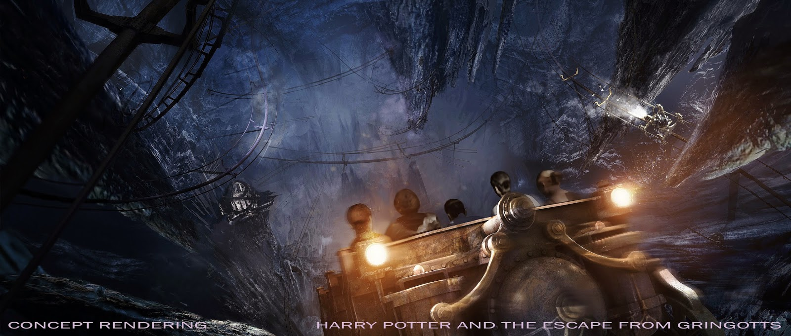 Gringotts Bank Ride