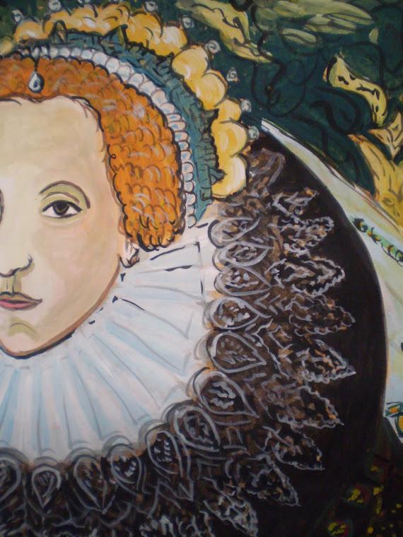 Elizabeth I, detail1