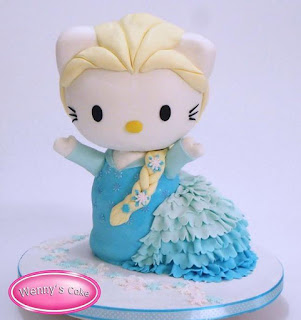 Kue Hello Kitty Frozen