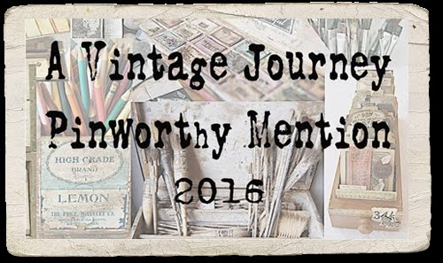 I am proud to wear the Vintage Journey Pinworthy Badge