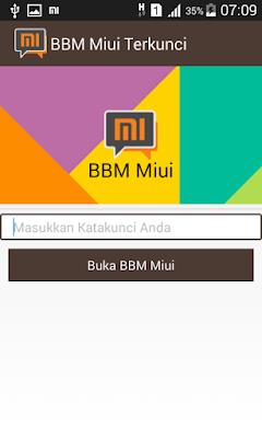 BBM MOD MIUI 7