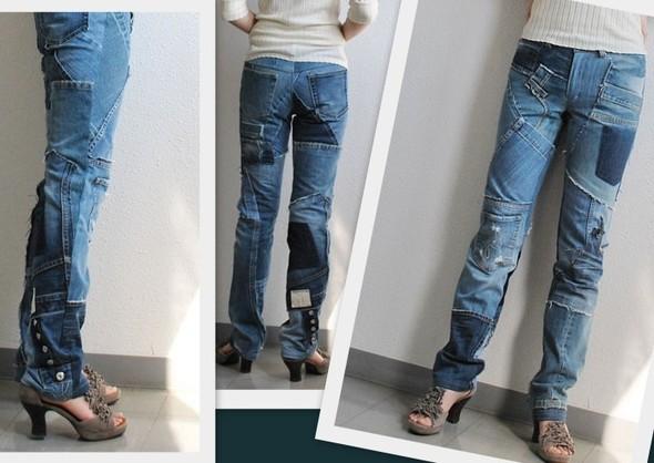 изделия из джинсовых обрезков