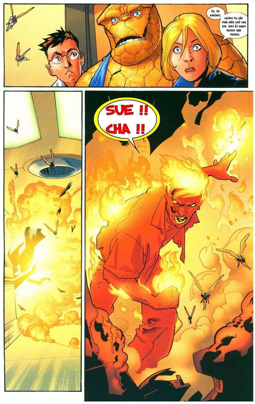 Ultimate Fantastic Four chap 9 - Trang 6