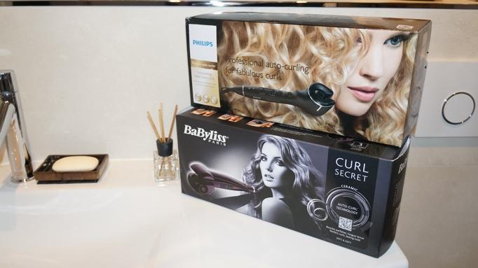 Philips Procare auto curler Babyliss curl secret