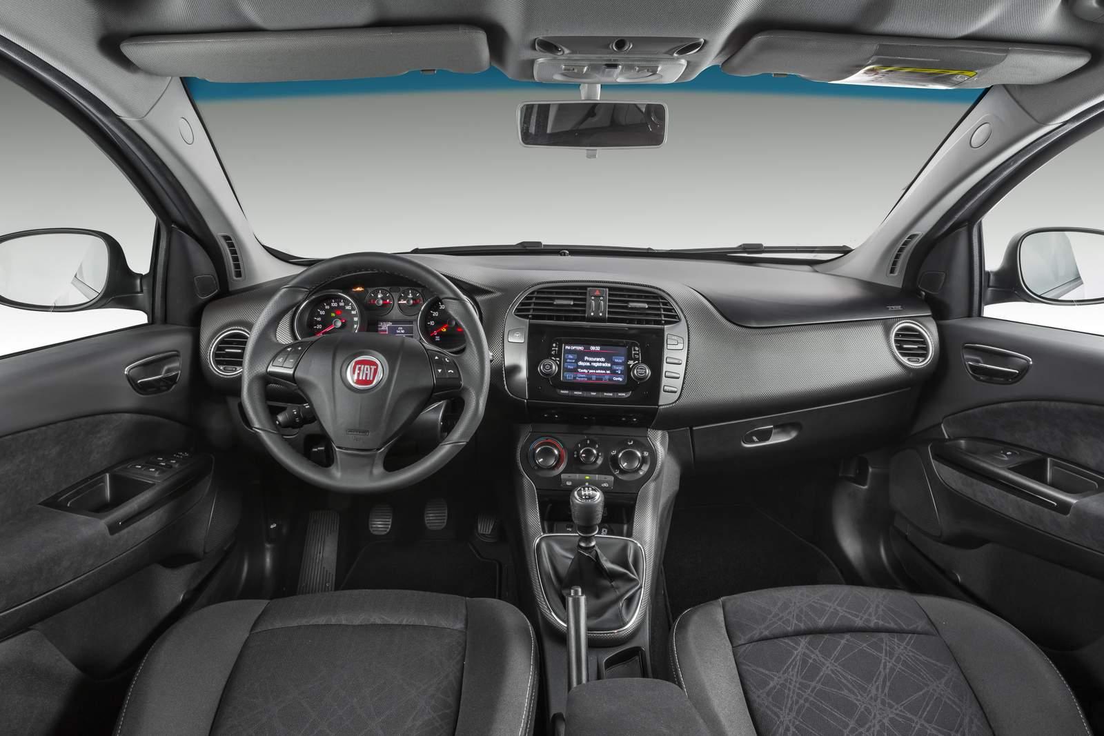 Fiat Bravo 2016 Essence - interior